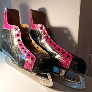 Retro schaatsen