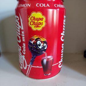 Coca Cola Chupa Chups blik
