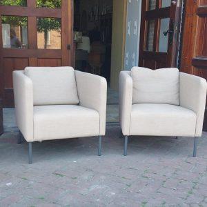 Moderne stoelen set