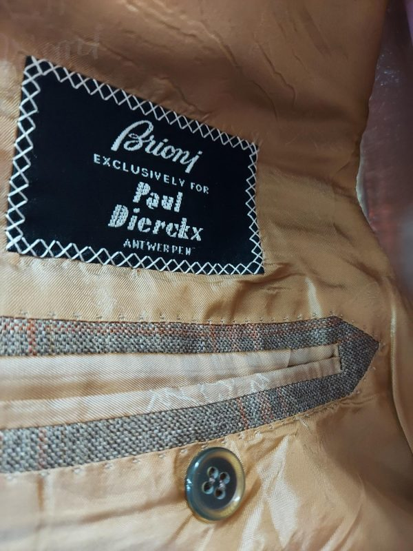 Brioni colbert (maat 50/L) label